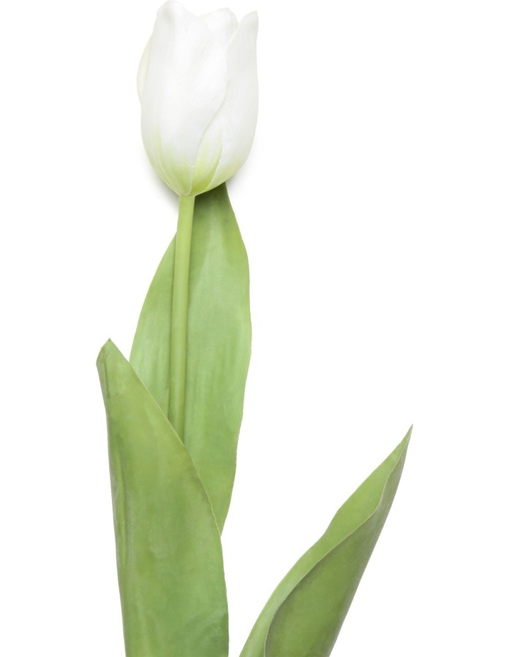 Tulip French Stem 69cm - White image 2