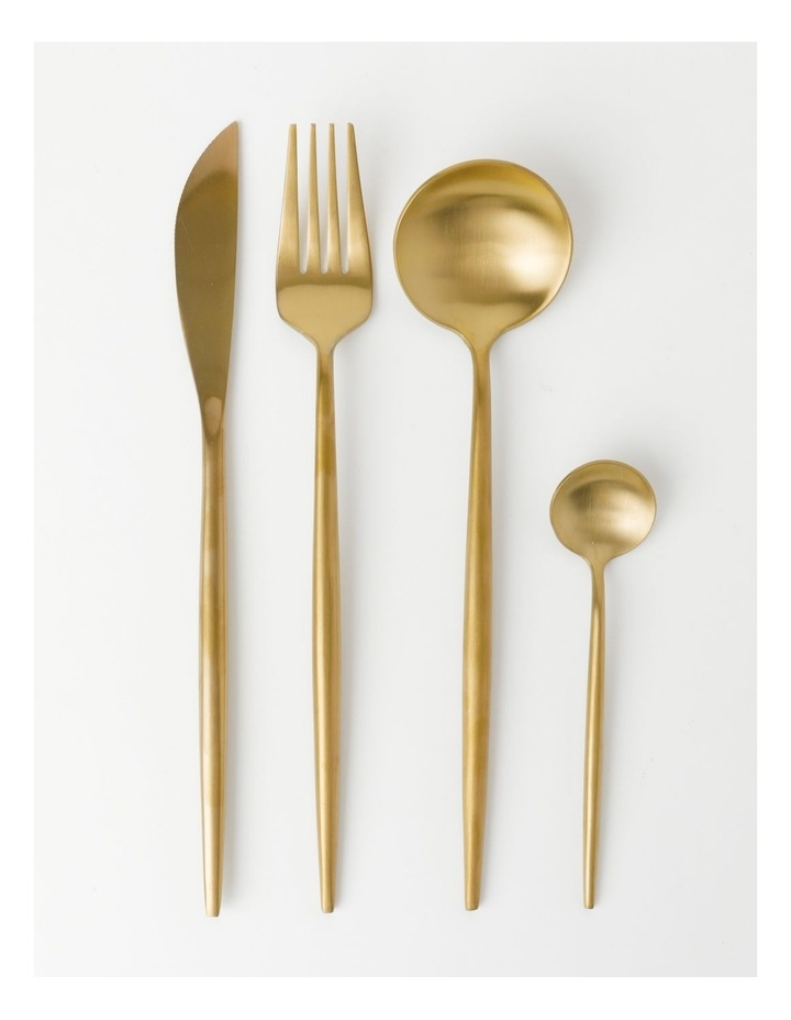 Spencer 16pc Cutlery Set Gold image 1