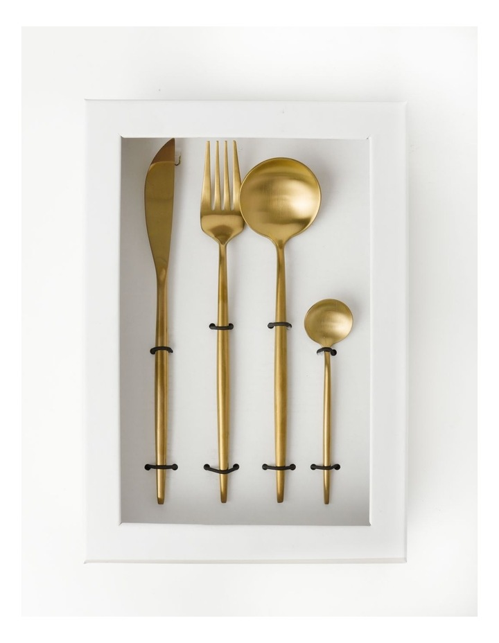 Spencer 16pc Cutlery Set Gold image 3