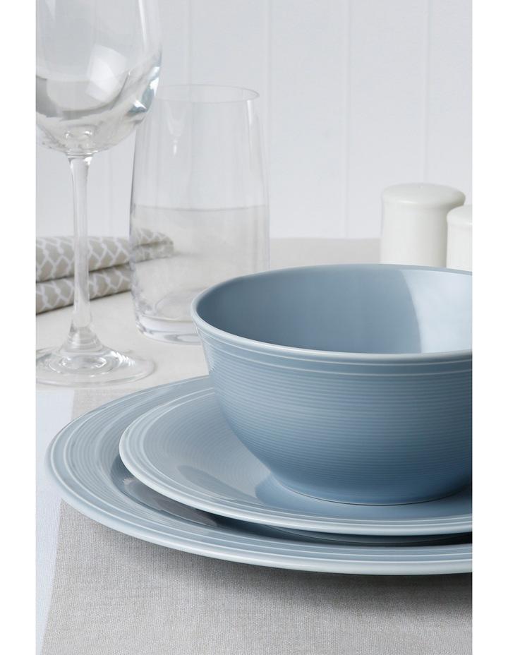 Rhythm 12 Piece Dinner Set - Blue image 2