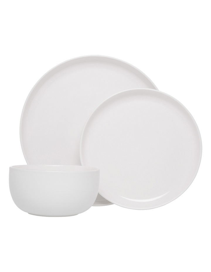 Nest Stoneware High Coupe 12 Piece Dinner Set - White image 1