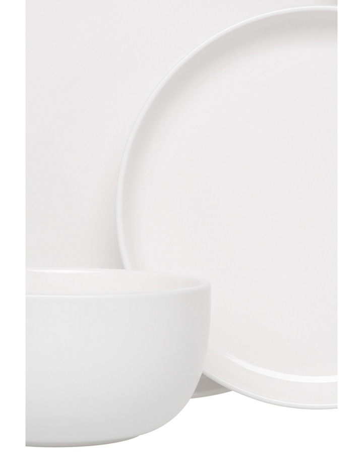 Nest Stoneware High Coupe 12 Piece Dinner Set - White image 2