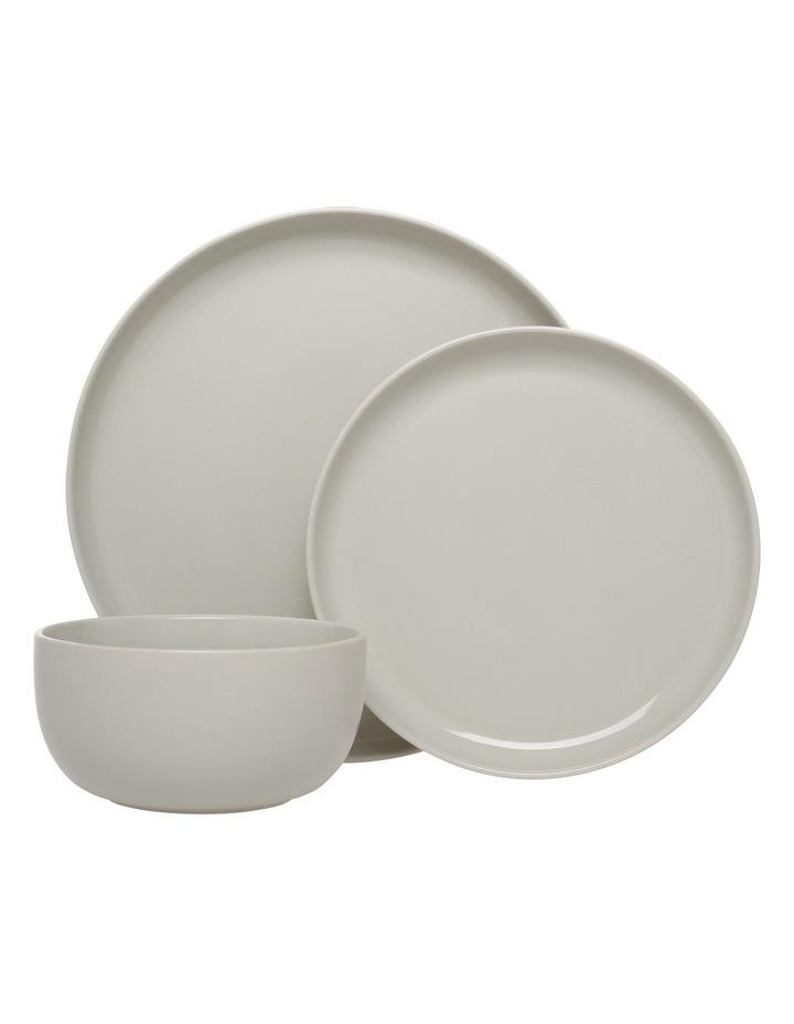 Nest Stoneware High Coupe 12 Piece Dinner Set - Grey image 1
