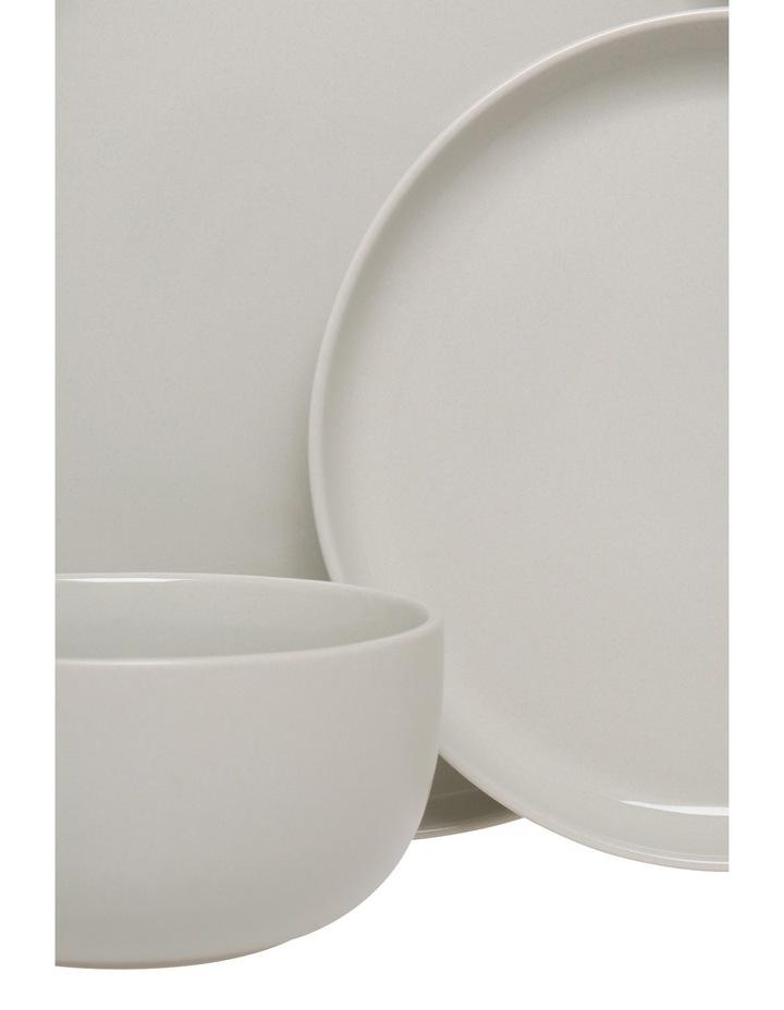 Nest Stoneware High Coupe 12 Piece Dinner Set - Grey image 2