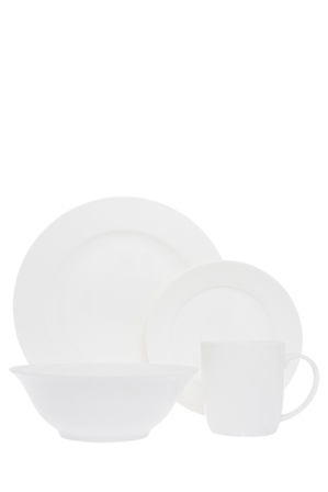 Heritage - Chelsea Rim 16 Piece Dinner Set