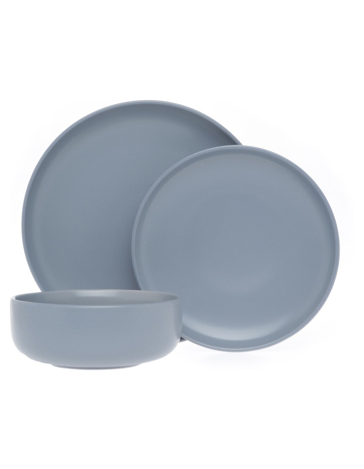 Western Stoneware High Coupe 12pc Dinner Set Blue image 1