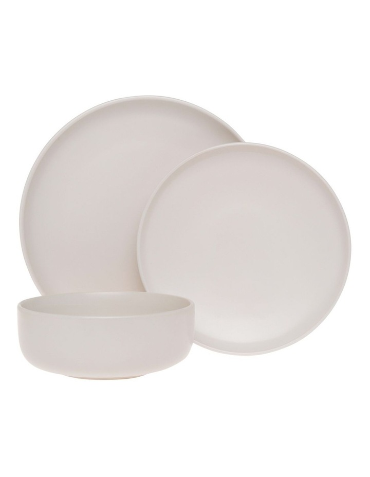Western Stoneware High Coupe 12pc Dinnerset White image 1