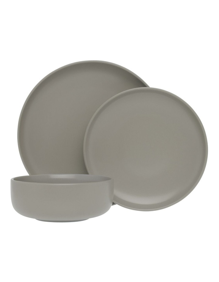 Western Stoneware High Coupe 12pc Dinnerset Grey image 1