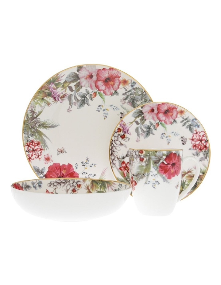 Hibiscus 16Pc Dinner Set image 1