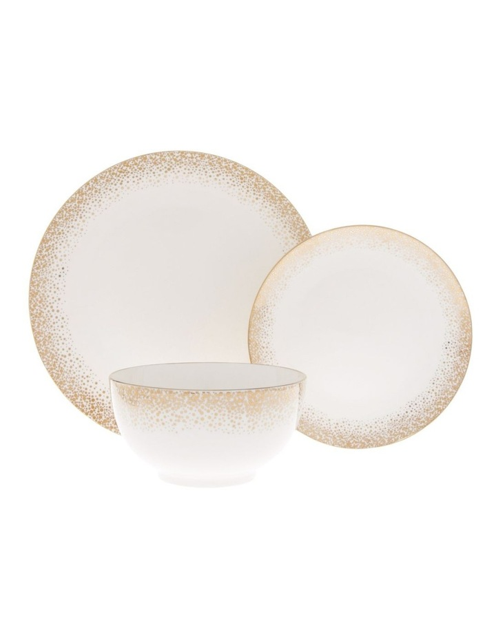 Nativity Gold 12pc Dinner Set image 1