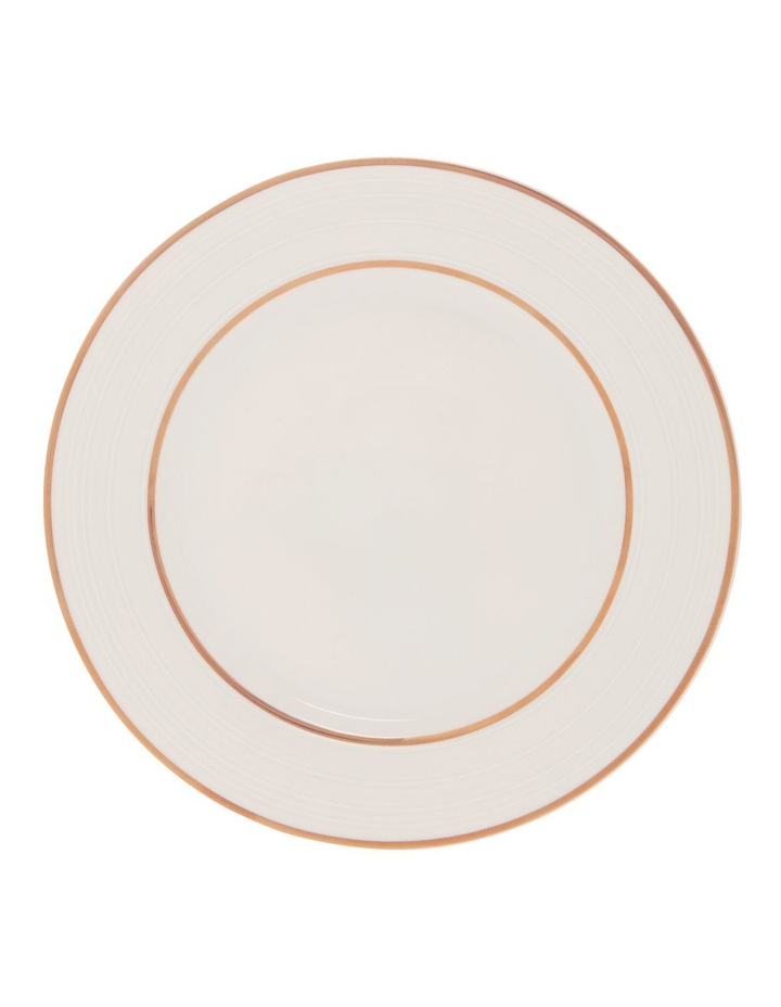 Luxe Christmas Rose Gold Rimmed 12 Piece Dinner set image 3