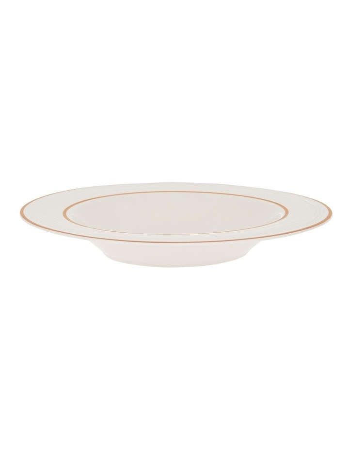 Luxe Christmas Rose Gold Rimmed 12 Piece Dinner set image 4
