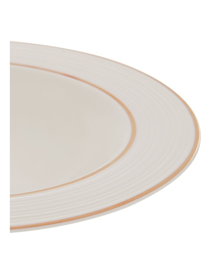 Luxe Christmas Rose Gold Rimmed 12 Piece Dinner set image 5