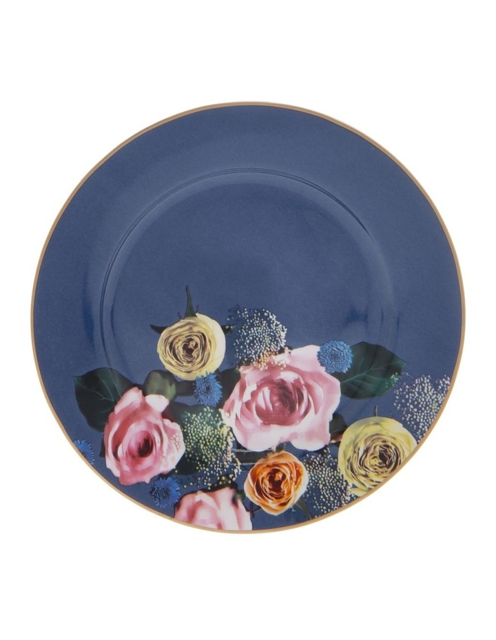 Florence Floral Side Plate in Navy image 1