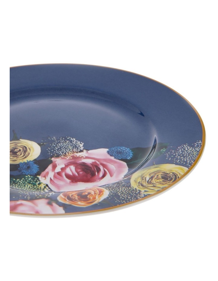 Florence Floral Side Plate in Navy image 2
