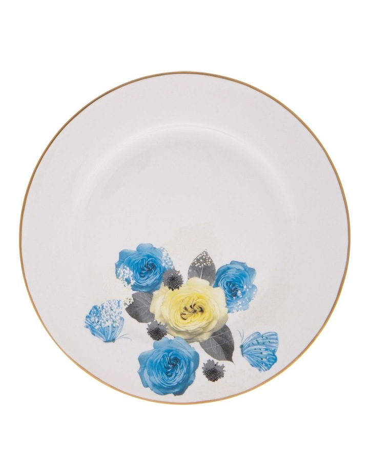 Florence Floral Side Plate in White image 1