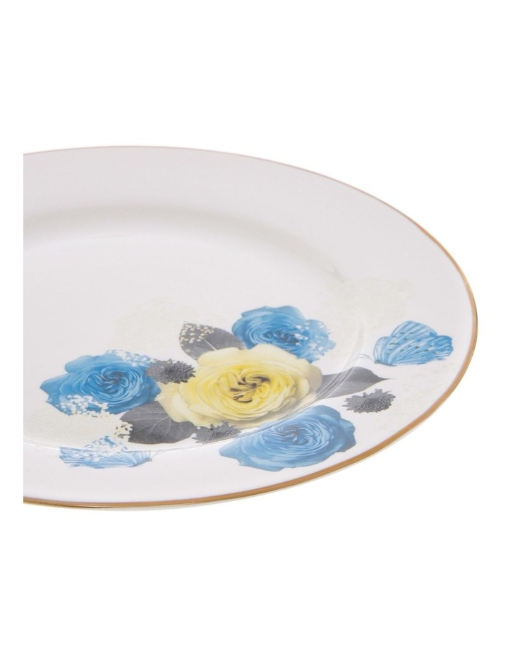 Florence Floral Side Plate in White image 2