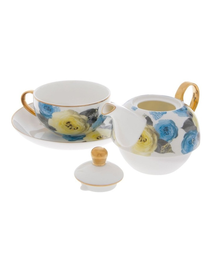 Florence Floral Tea for 1 in White image 2
