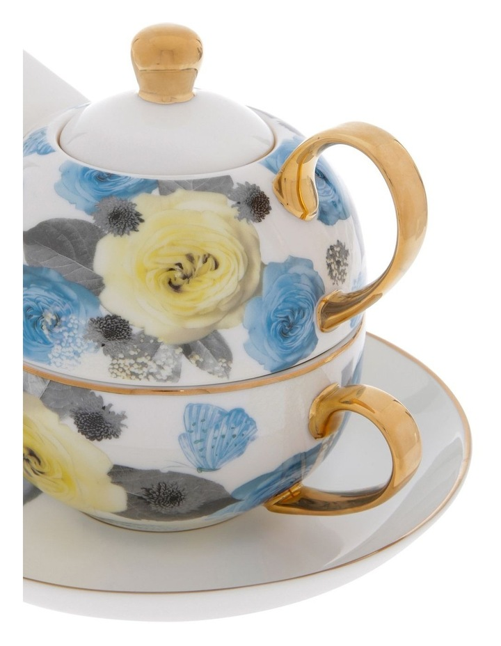 Florence Floral Tea for 1 in White image 3