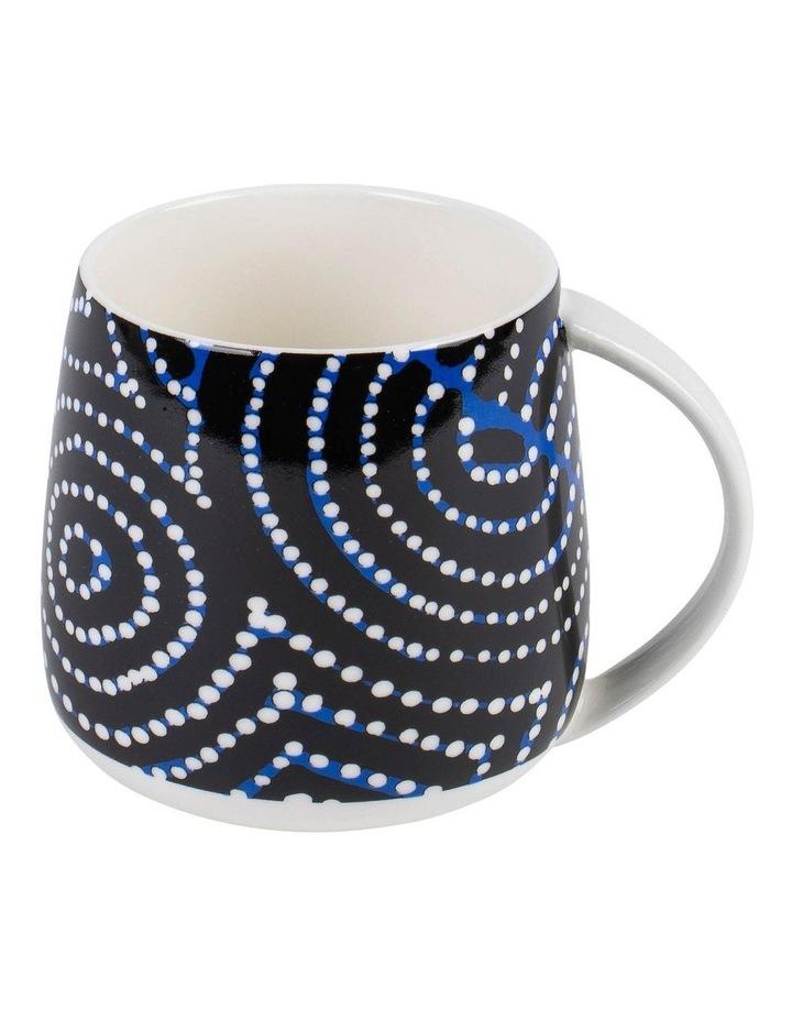 Patrick Japangardi Williams - Mina Mina Jukurrpa (Mina Mina Dreaming) Mug & Coaster image 2