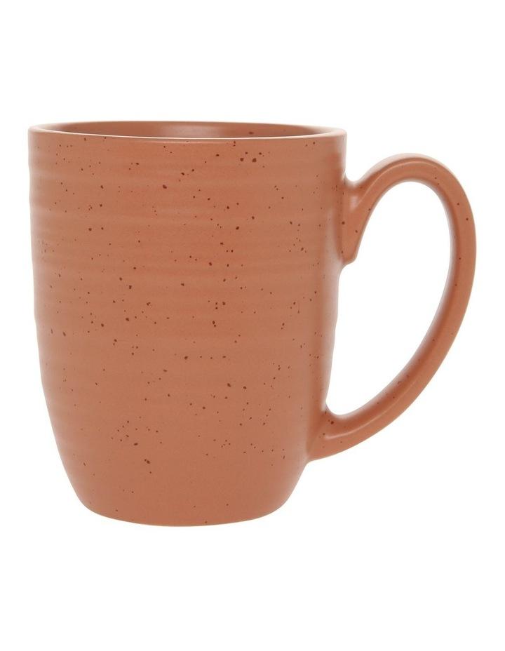 Desert Bloom Mug Set of 4 Orange image 1