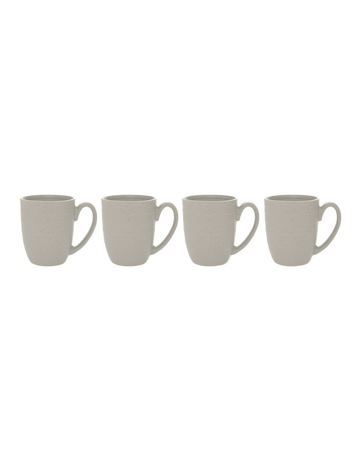 Desert Bloom Mug Set of 4 Grey image 2