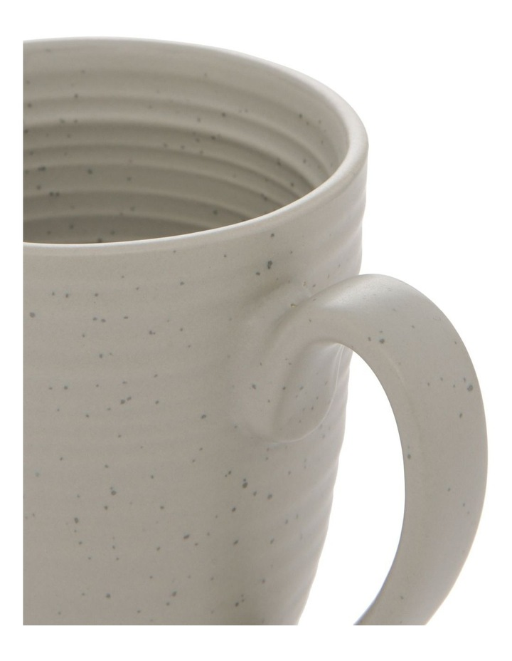Desert Bloom Mug Set of 4 Grey image 3