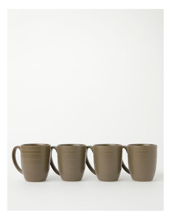 Desert Bloom Set of 4 Mugs in Olive image 1