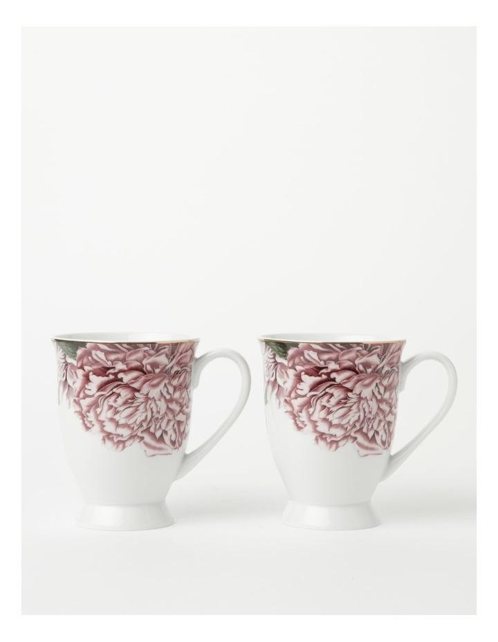 Botanical Pink Mug set of 2 image 2