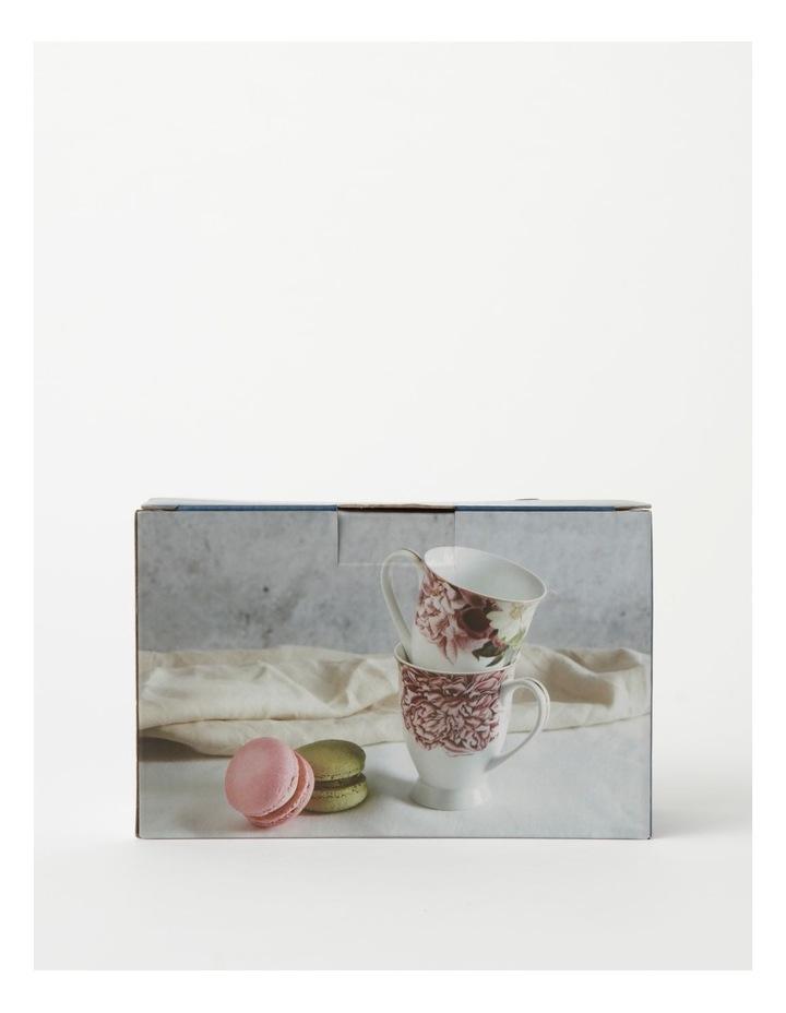 Botanical Pink Mug set of 2 image 4
