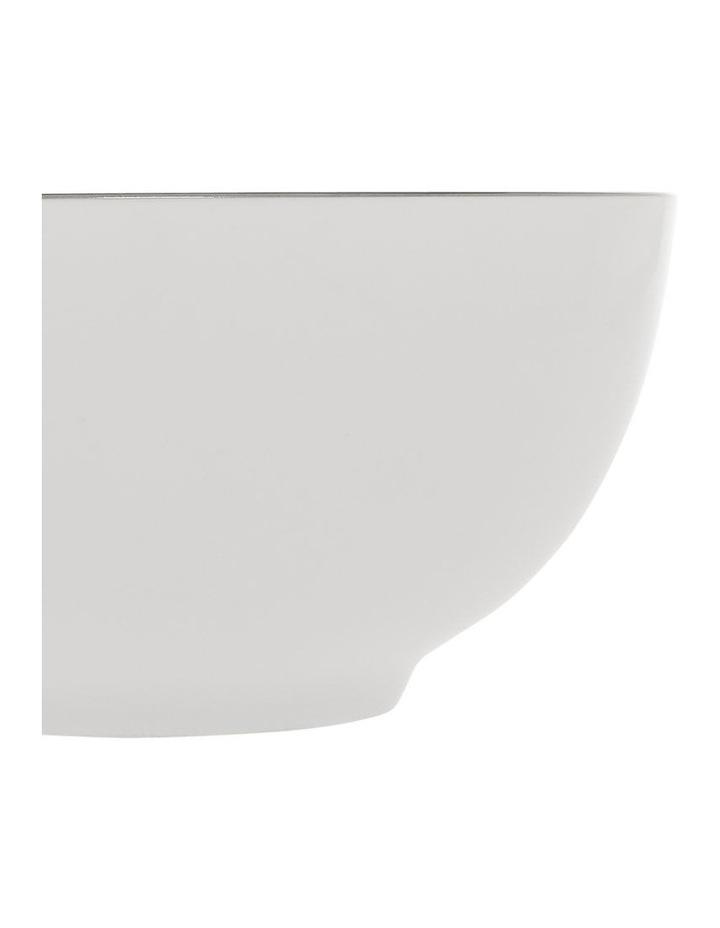 Largo Silver Rimmed Cereal Bowl 15.5cm image 2