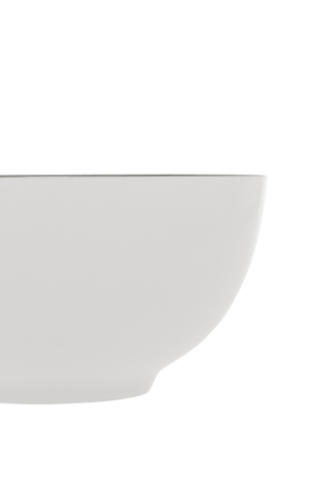 Heritage - Largo Silver Rimmed Cereal Bowl 15.5cm