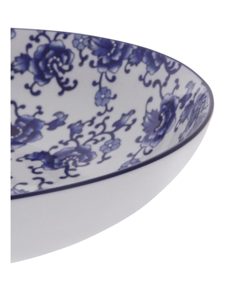 Blue Collage Floral 34.5cm Bowl image 2