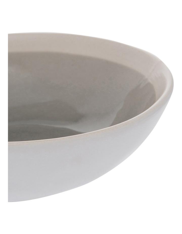 Riverstone Crackle 15.5cm Grey Bowl image 2