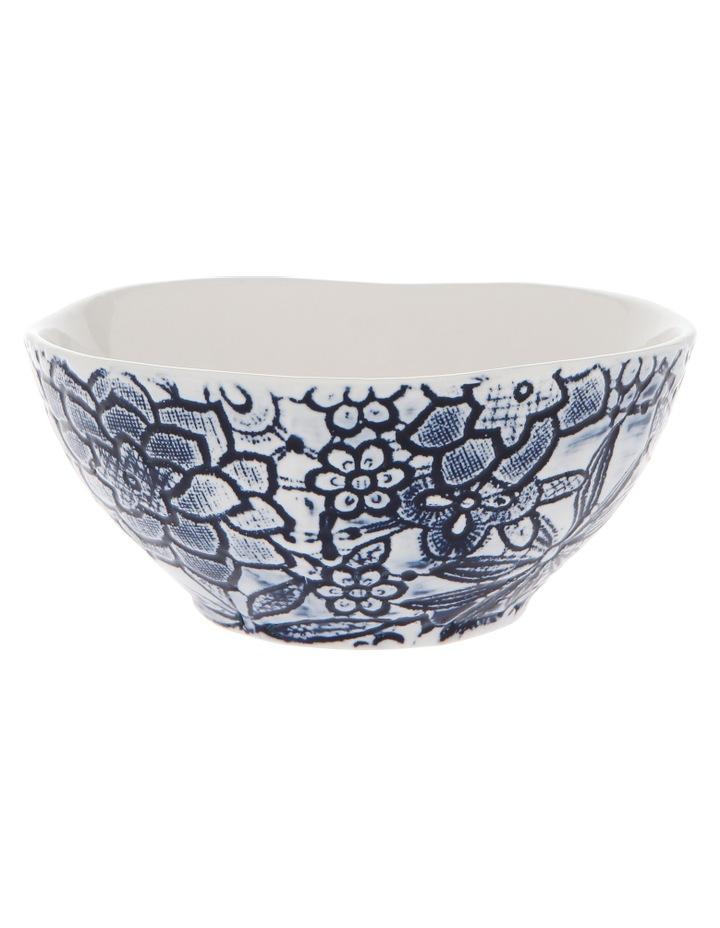 Oriental Flower Porcelain Bowl image 2