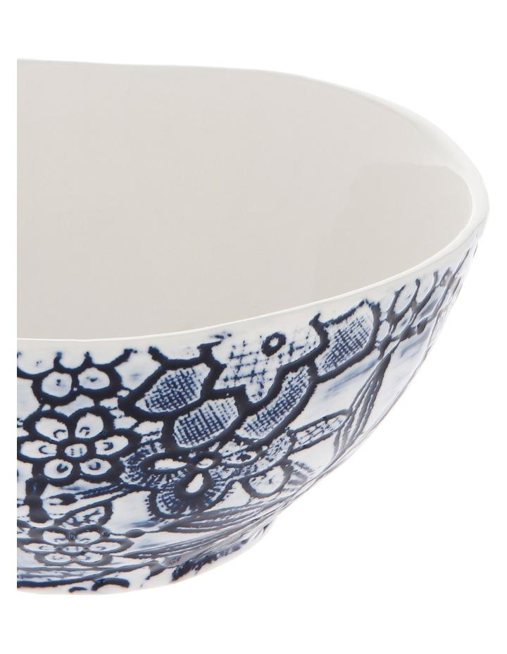 Oriental Flower Porcelain Bowl image 4