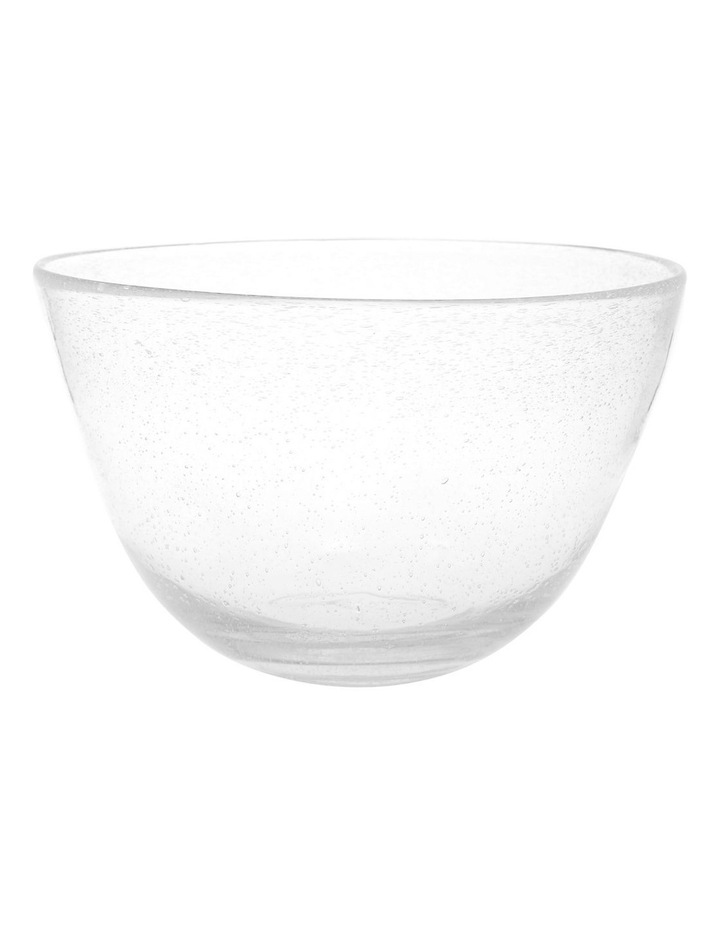 Hawkesbury recycled clear glass Bowl image 1