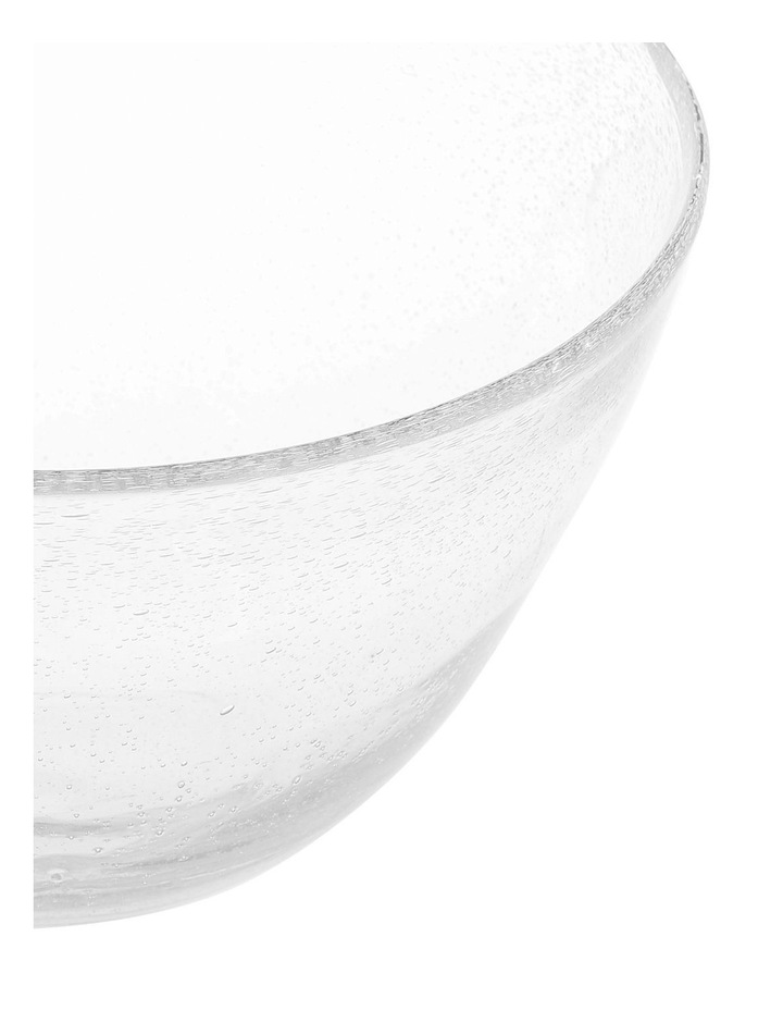 Hawkesbury recycled clear glass Bowl image 2