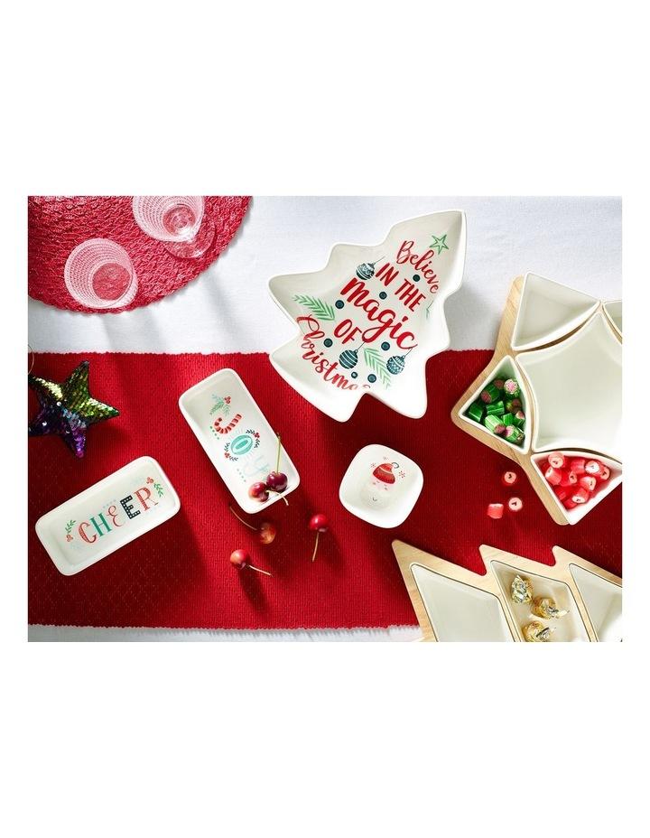 Merry & Bright Christmas Bowl 4pk image 3