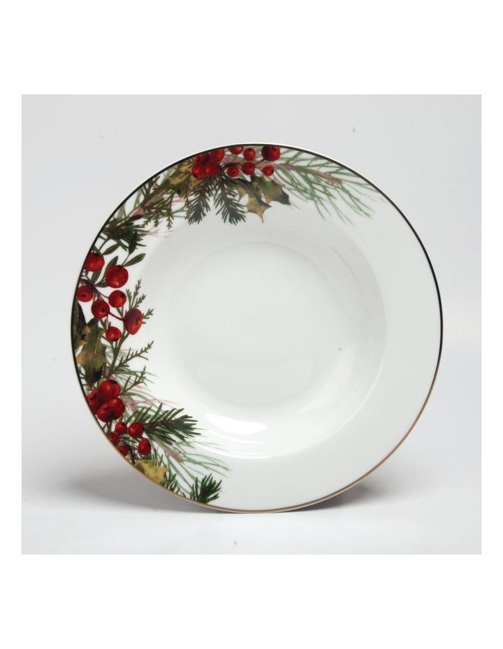 Festive Holly Soup Bowl image 1