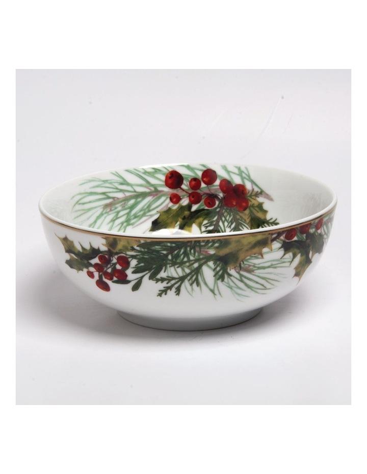 Festive Holly Rice Bowl image 1