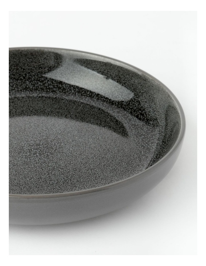 Esperance Shallow Bowl in Charcoal image 3