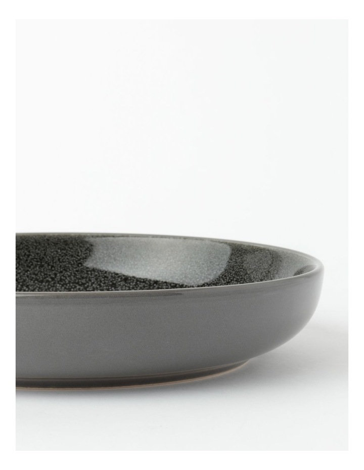 Esperance Shallow Bowl in Charcoal image 4