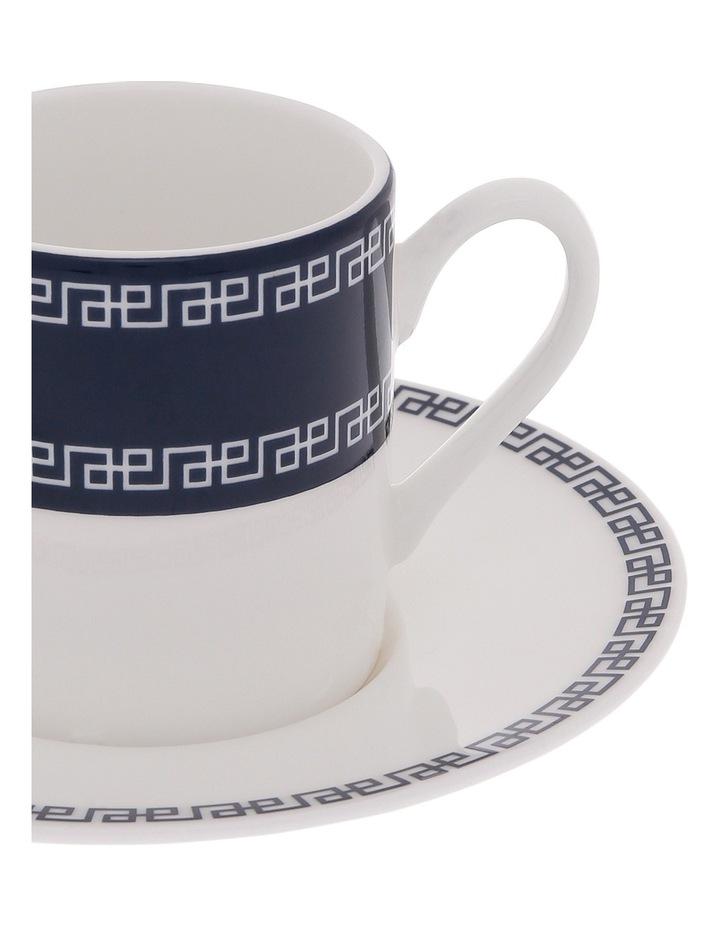 Grecian Fine Bone China Espresso Cup and Saucer image 2