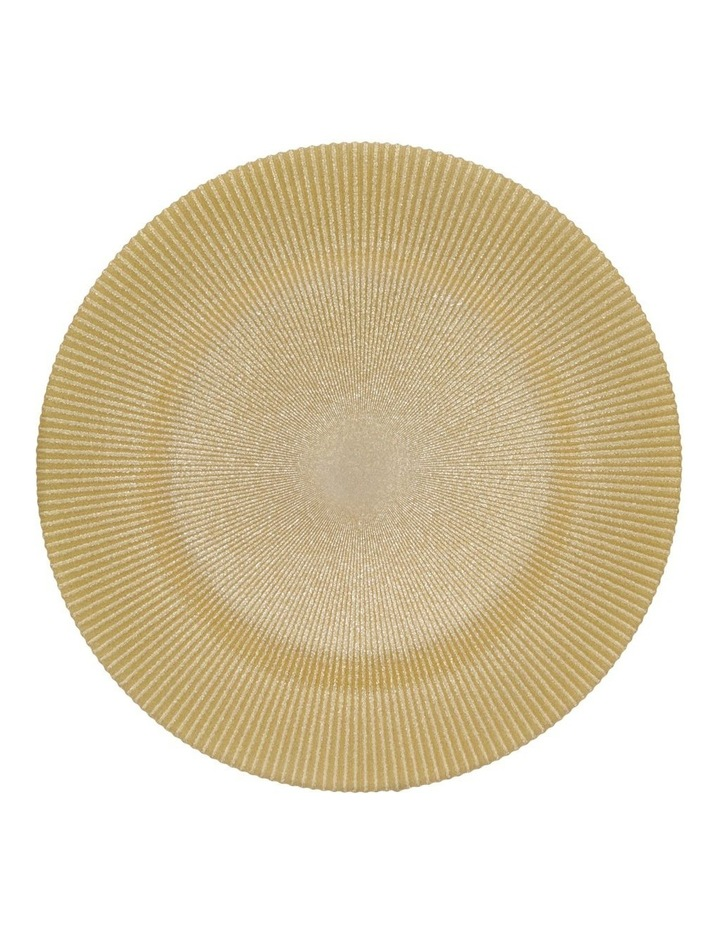 Glitter Charger Plate Gold image 1