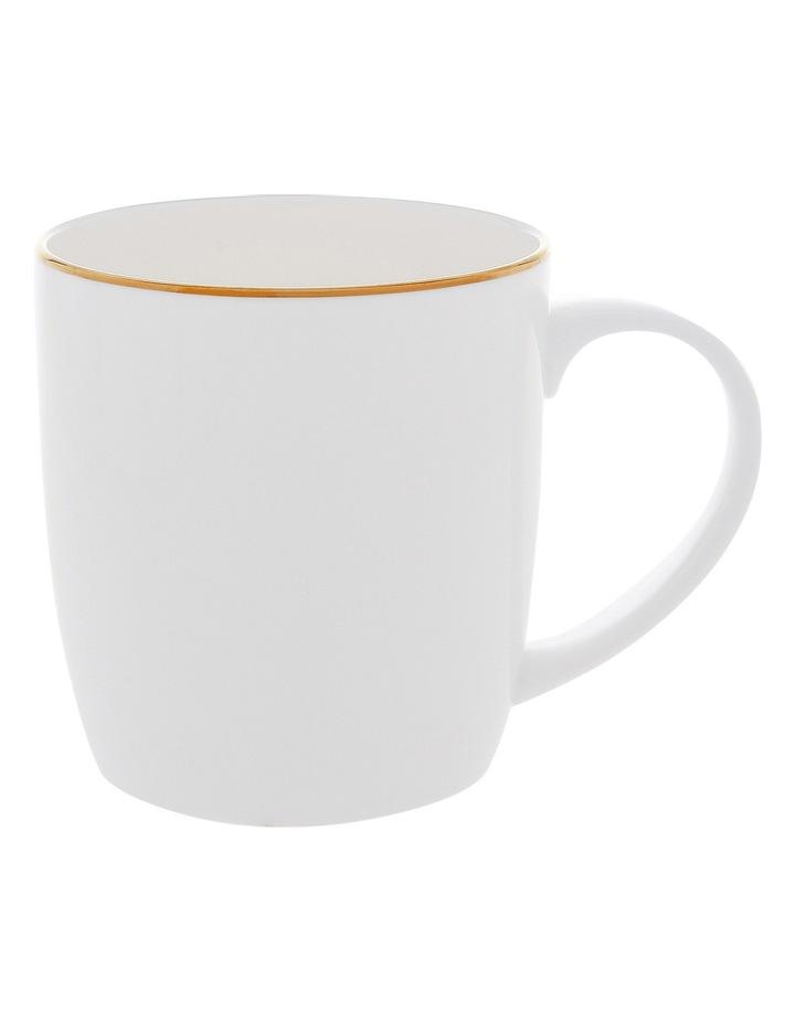 Largo Gold Rimmed Conical Mug image 1