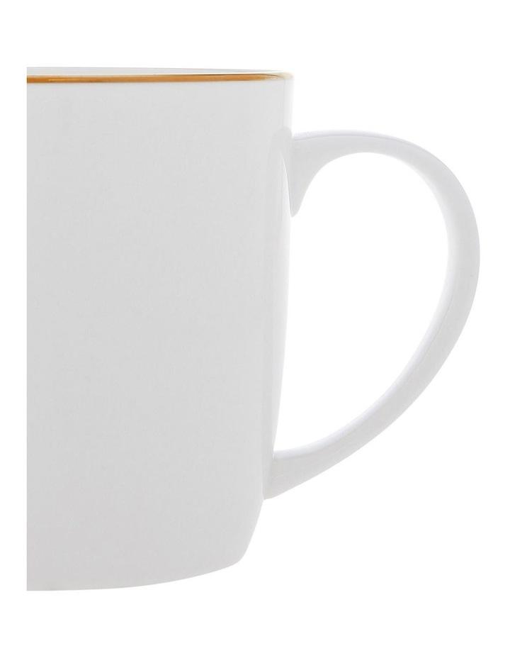 Largo Gold Rimmed Conical Mug image 2
