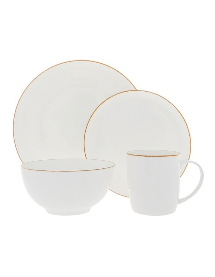 Largo Gold Rimmed Conical Mug image 3