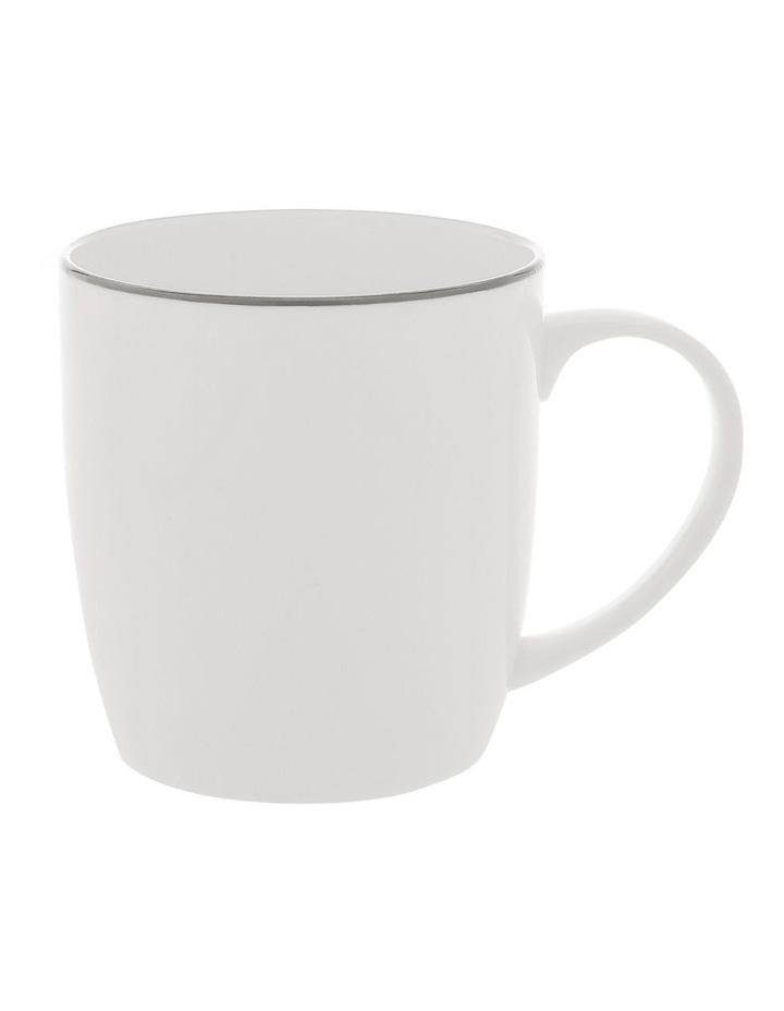 Largo Silver Rimmed Conical Mug image 1