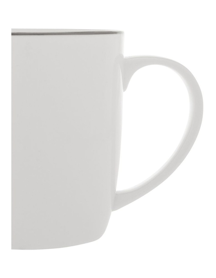 Largo Silver Rimmed Conical Mug image 2